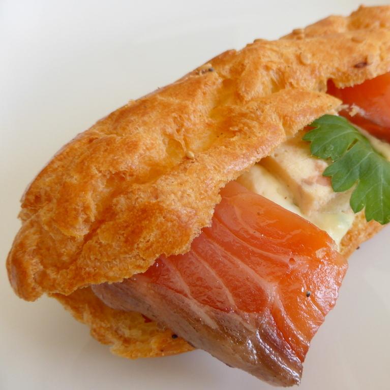 Eclair aux 2 saumons
